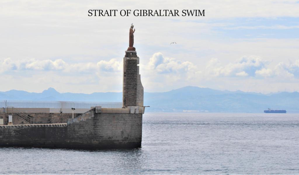 1.2 Gibraltar swim