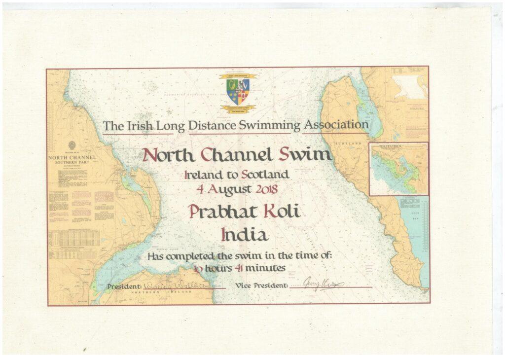 NORTH CHANNEL, UNITED KINGDOM