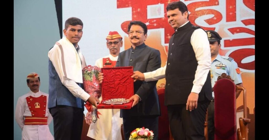 Felicitate By Honorable Governor & Chief Minister Of Maharashtra On The Occasion Of Maharashtra Day, 1st May 2017