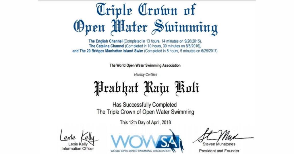 Triple Crown of Open Water Swimming